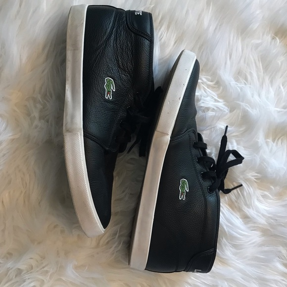 Lacoste Other - Lacoste Ampthill Mid Top Sneakers 10.5